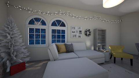 Christmas Eve living room - Classic - Living room - by alainap123