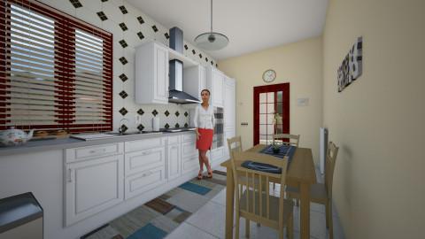 cucina - Kitchen - by lollouio