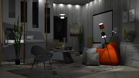 home cinema - Living room - by laughterlines