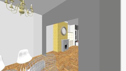 Farnan extension - Vintage - Living room - by natienka