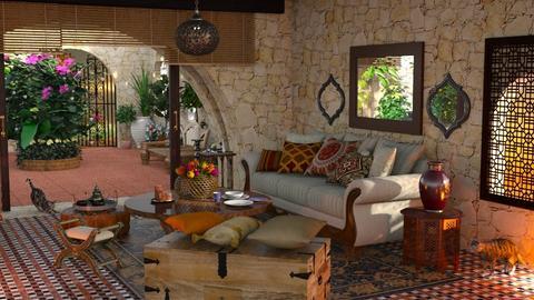 Nubian House - by ZsuzsannaCs
