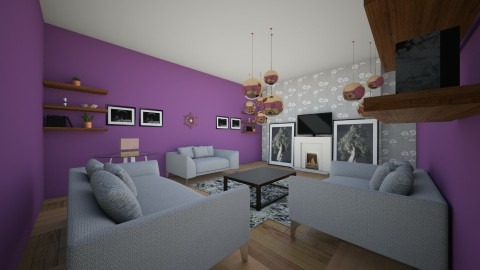 Family style living room - Classic - Living room - by callumip9