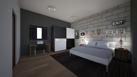 Tom - Masculine - Bedroom - by AfroditeGoldie