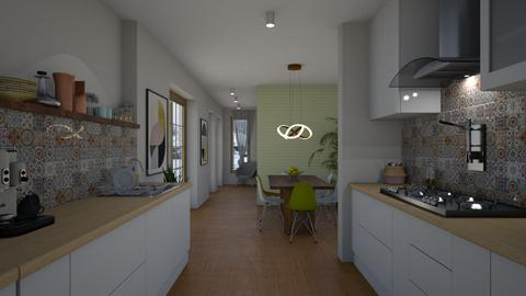 Kitchen - Modern - Kitchen - by Annathea