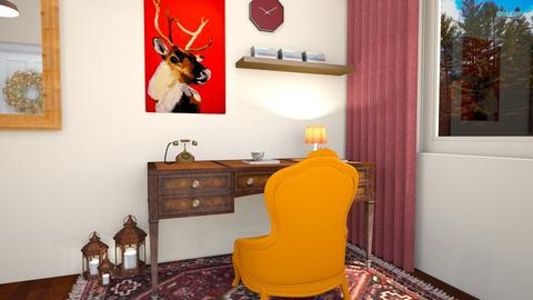 Autumn Home Office - Vintage - Office - by fashionistafalida