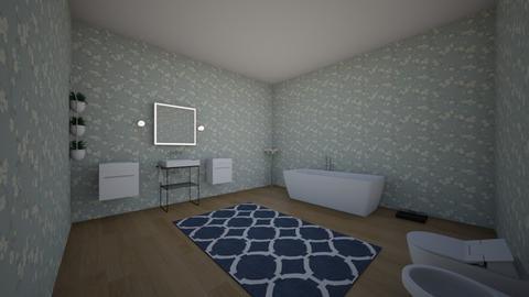 bathroom - by emmaannalise