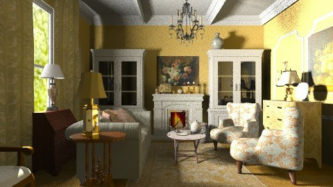 Sitting Room - Classic - by PomBom