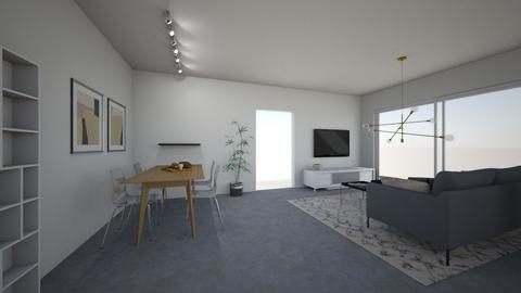 Amit Living - Living room - by erlichroni
