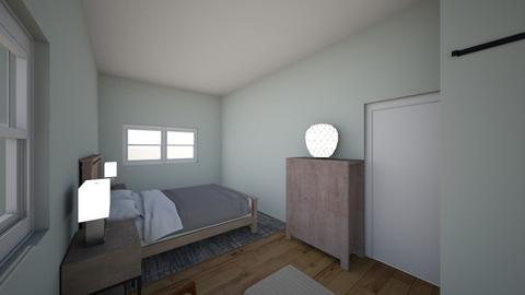 Summer St Master Bedroom - Minimal - Bedroom - by meghanmulv