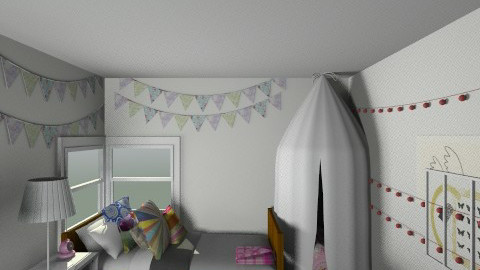 Kins Room - Retro - Kids room - by soul7bird