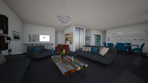 Anghela - Living room - by Anghela Cruz