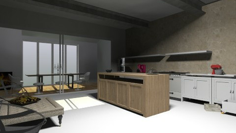 Kitchen heaven - Modern - Kitchen - by Beixpidu