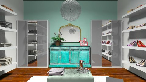 Walk in closet - Glamour - by Taylund13