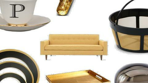 Black, gold and a little bit of spook - Glamour - by consider this design