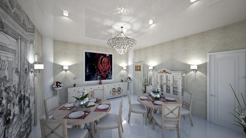 etaj 1 dining room - by loredanamateiu