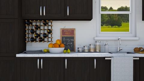 Little Kitchen - Modern - Kitchen - by millerfam