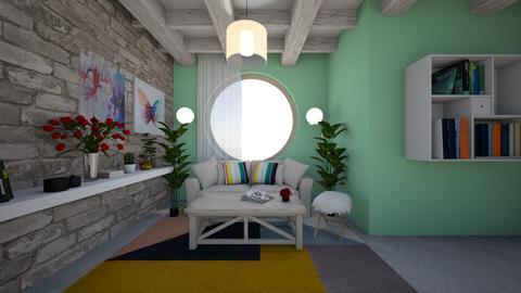 modern - Modern - Living room - by TeodoraYord