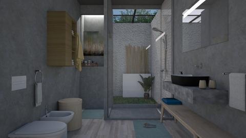 ducha12 - Minimal - Bathroom - by Gabylez