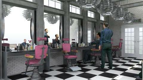 Barber-Shop - Retro - by AlSudairy S
