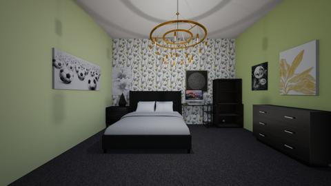 Kennas Bedroom - Bedroom - by Callie Carlson_192