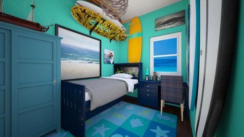 Son of Poseidon - Bedroom - by SammyJPili