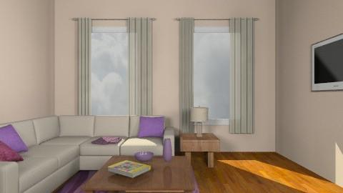 Cream2 - Living room - by Gubacsi Judit