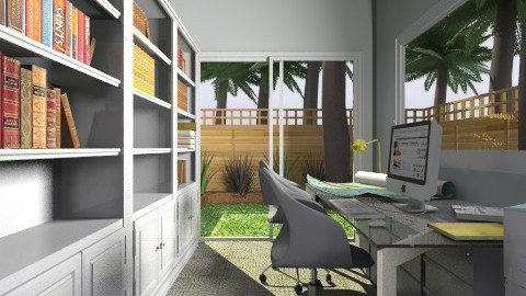 For Candice 1 - Eclectic - Office - by Theadora