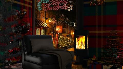 Santas home - by Kalinowska