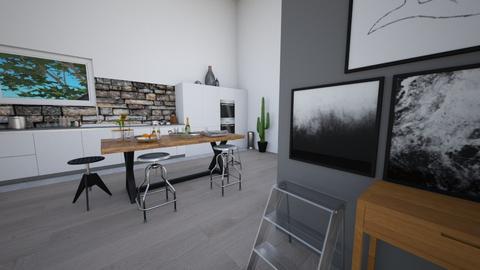 stylish kitchen - Kitchen - by Lot Parker