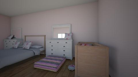 mom and babies room  - Bedroom - by 93958