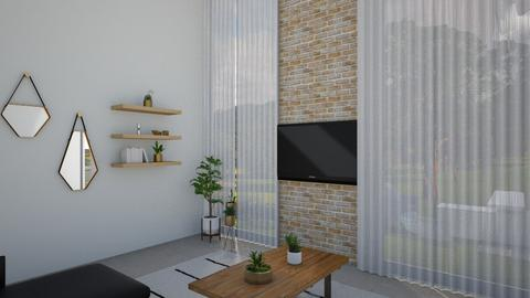 1008 1 - Living room - by Riki Bahar Elbaz