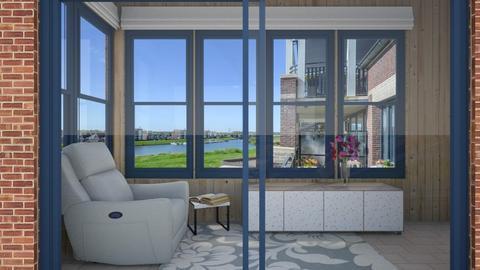 IP Terrazzo - Living room - by Phospective