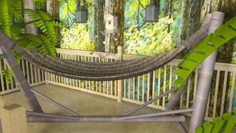 Arboreal Retreat - Eclectic - Bedroom - by Theadora