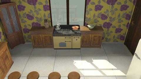 Kitchen - Rustic - Kitchen - by mairadjvl