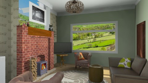 front room 3 - Living room - by Billy Hall