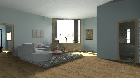 brighton hotel room - Living room - by Bekarr
