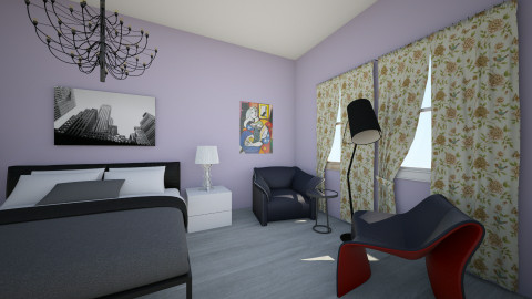 Small but mighty bedroom - Modern - Bedroom - by boygaga
