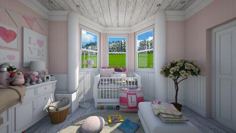 BabyGirl - Vintage - Kids room - by atiyahanisah