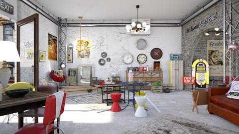 vintage shop - by Lo89