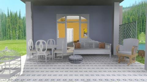 Simple Balcony - Rustic - Garden - by beabiabolhas