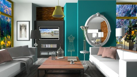 Color fun - Classic - Living room - by sahfs
