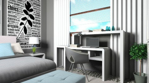 Poynter BR design - Eclectic - Bedroom - by channing4
