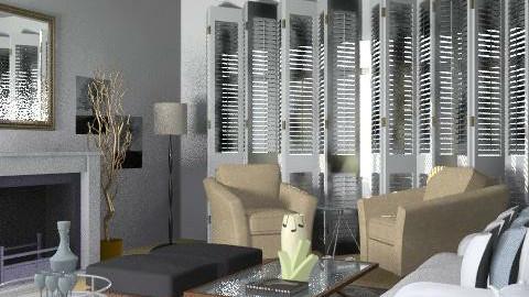 design24 - Glamour - Living room - by blondina14