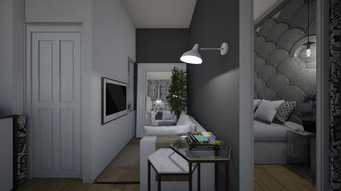 Casa316LivingArea - Retro - Living room - by nickynunes