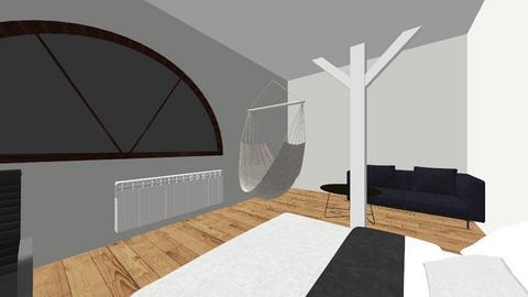 E - Minimal - Bedroom - by leniuchoowa