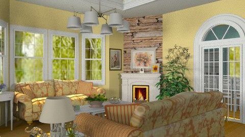 A Touch of Elegance - Classic - Living room - by Bibiche