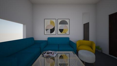 living - Living room - by shrouke eldesouky