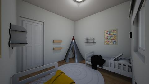 Maya Elul kidsroom 23 - Kids room - by erlichroni