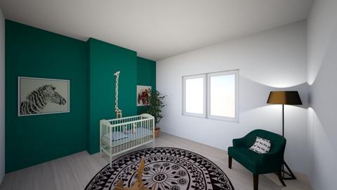 Renovatie Korbeeklose - Kids room - by Andrea Jame