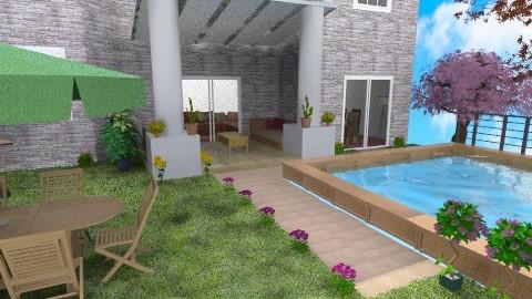 backyard - Glamour - Garden - by sally89
